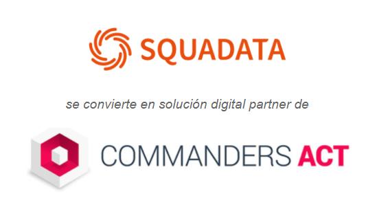 Colaboración en Email Retargeting de Squadata y CommandersAct