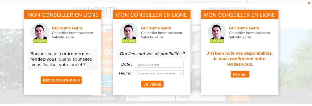 DMP : Personnalisation de la page d'accueil selon les données de CRM