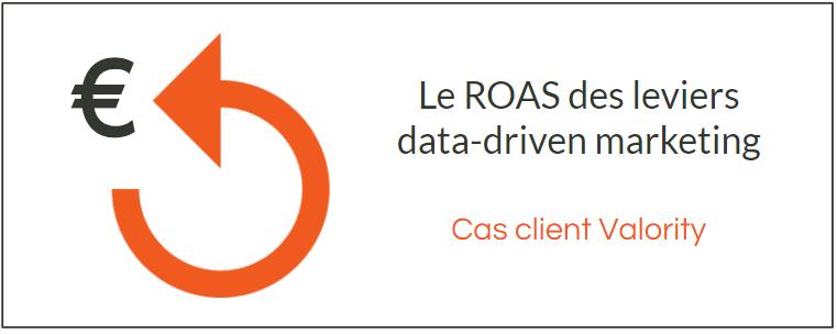 Le ROAS du Data-driven Marketing de Squadata