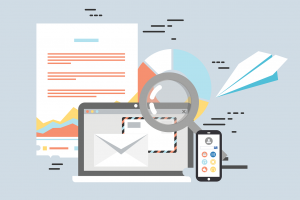 Illustration Email Appending Squadata