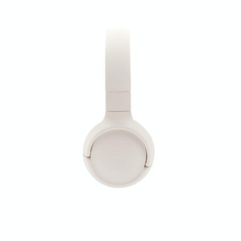 Casque d'écoute blanc