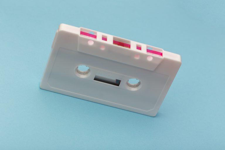 Cassette bleu playlist de mai